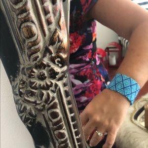 Designer beaded cuff bracelet - brand new!